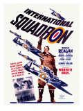 Ronald Reagan Squadron Movie Poster Giclee Print
