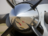Close-Up View of the Propeller of an Iraqi Air Force T-6 Texan Trainer Aircraft Photographic Print