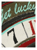 Vintage Roulette - Get Lucky Print by Lisa Weedn