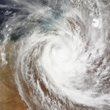 Cyclone Laurence Moves Far Inland over Western Australia Photographic Print