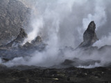 Erta Ale Steaming Hornitos, Danakil Depression, Ethiopia Photographic Print