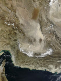 Dust Storm in Iran Photographic Print