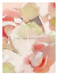 I See You Everywhere Roses Giclee Print by Lisa Weedn