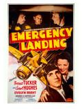 Forrest Tucker Emergency Landing Poster Giclee Print