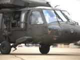 A UH-60 Black Hawk Taxis Out for a Mission over Northern Iraq Photographic Print