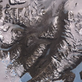 The Mcmurdo Dry Valleys West of Mcmurdo Sound, Antarctica Photographic Print