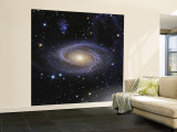 Messier 81, or Bode's Galaxy, is a Spiral Galaxy Located in the Constellation Ursa Major Wall Mural – Large