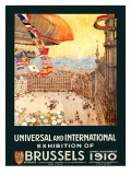 Universal International Exhibition of Brussels Poster