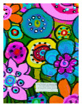 Groovy Garden Party Giclee Print by Lisa Weedn