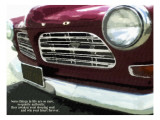 Ruby Vintage Car 18X24 Posters by Lisa Weedn
