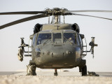 Front View of a UH-60L Black Hawk Helicopter Photographic Print