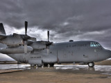 High Dynamic Range Image of a US Air Force C-130 Hercules Photographic Print