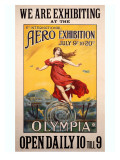 Aero Olympia Air Exposition Poster Giclee Print
