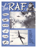 WWII RAF Spitfire Pilots Recruiting Prints
