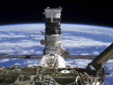 The Mini Research Module 2 Docked with the International Space Station Photographic Print
