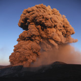 Eyjafjallajökull Eruption, Summit Crater, Iceland Photographic Print