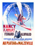 Fernand Malinvad Aviation Expo Poster Giclee Print