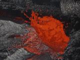 Erta Ale Fountaining Lava Lake, Danakil Depression, Ethiopia Photographic Print
