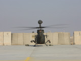 Rear View of a Oh-58D Kiowa Warrior at Camp Speicher, Iraq Photographic Print