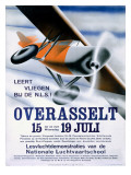German National Aviation School Poster Giclee Print
