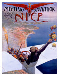 Nice Aviation Air Show Poster Posters