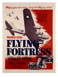 WWII B17 Flying Fortress Movie Poster Giclee Print