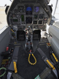 The Interior Cockpit of an Iraqi Air Force T-6 Texan Trainer Aircraft Photographie
