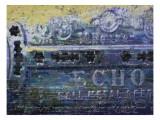 Blues Harp Vintage Harmonica Giclée-Druck von Lisa Weedn
