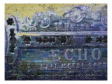 Blues Harp Vintage Harmonica Giclee Print by Lisa Weedn