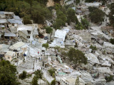 View of Port-Au-Prince, Haiti, after a Magnitude 7 Earthquake Hit the Country, Photographic Print