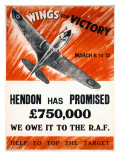WWII 'Wings for Victory' Production Poster Prints