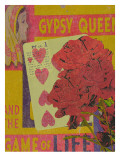 Gypsy Queen and the Game of Life Giclee Print by Lisa Weedn