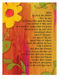 Listen to the Children - A Reason to Believe Prints by Lisa Weedn