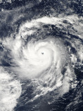 Typhoon Nida in the Pacific Ocean Photographic Print
