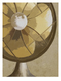 Stay Cool Vintage Fan Giclee Print by Lisa Weedn