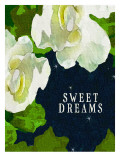 Sweet Dreams Gardenias Poster by Lisa Weedn