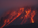Soufriere Hills Eruption, Montserrat Island, Caribbean Photographic Print