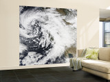 A Series of Strong Storms with Fierce Winds and Heavy Rains Hit California Wall Mural – Large