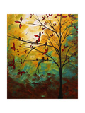 Bird Haven Giclee Print by Megan Aroon Duncanson