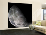 Color Mosaic of the Earth's Moon Wall Mural – Large