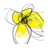 Yellow Petals 3 Giclee Print by Jan Weiss