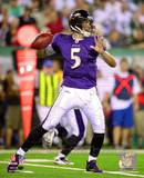 Joe Flacco 2010 Action Photo