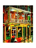 Felixs Oyster Bar in New Orleans Reproduction procédé giclée par Diane Millsap