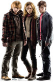 Harry Potter and the Deathly Hallows - Group - Harry, Hermoine and Ron Imagen a tamaño natural