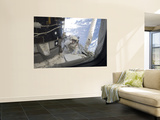 An Astronaut Participates in the Session of Extravehicular Activity Wall Mural