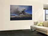 Soufriere Hills Eruption, Montserrat Island, Caribbean Wall Mural