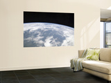 View of Planet Earth from Space Premium Wall Mural