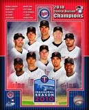 Minnesota Twins 2010 AL Central Champions Composite Photo