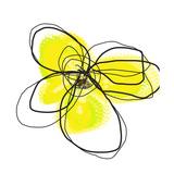 Yellow Petals 2 Giclee-trykk av Jan Weiss