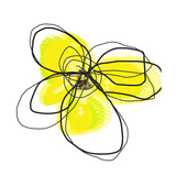 Yellow Petals 2 Giclee Print by Jan Weiss